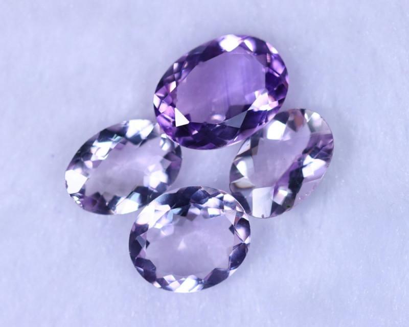 21.55cts Natural Purple Amethyst Lots  / MA1167