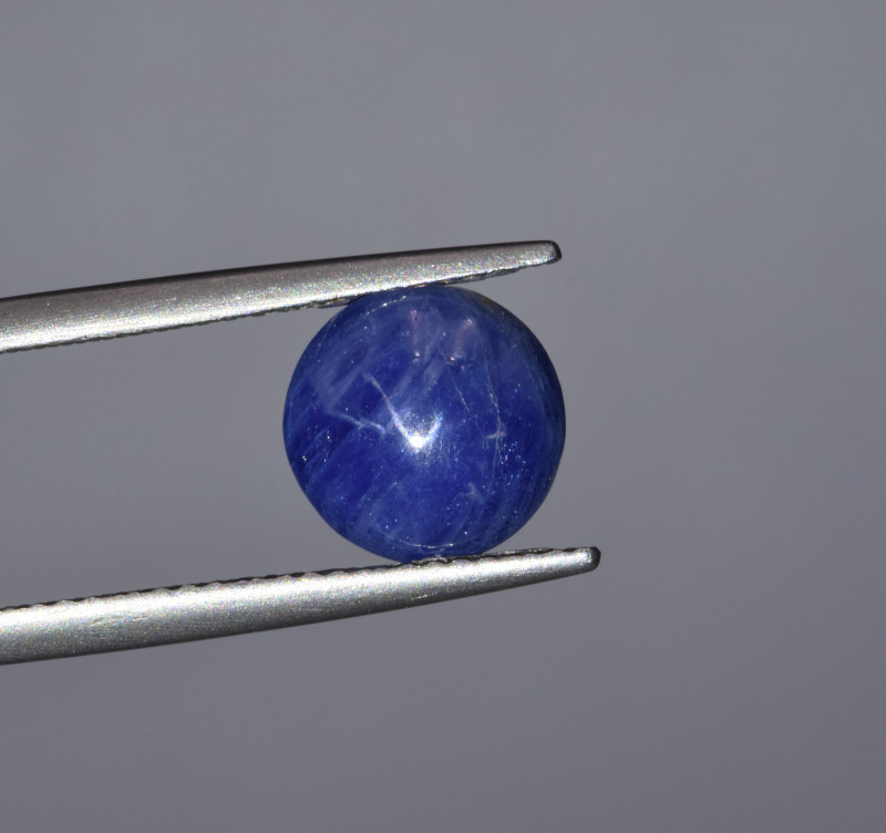 Natural Blue Sapphire 4.20 Cts Cabochon from Burma