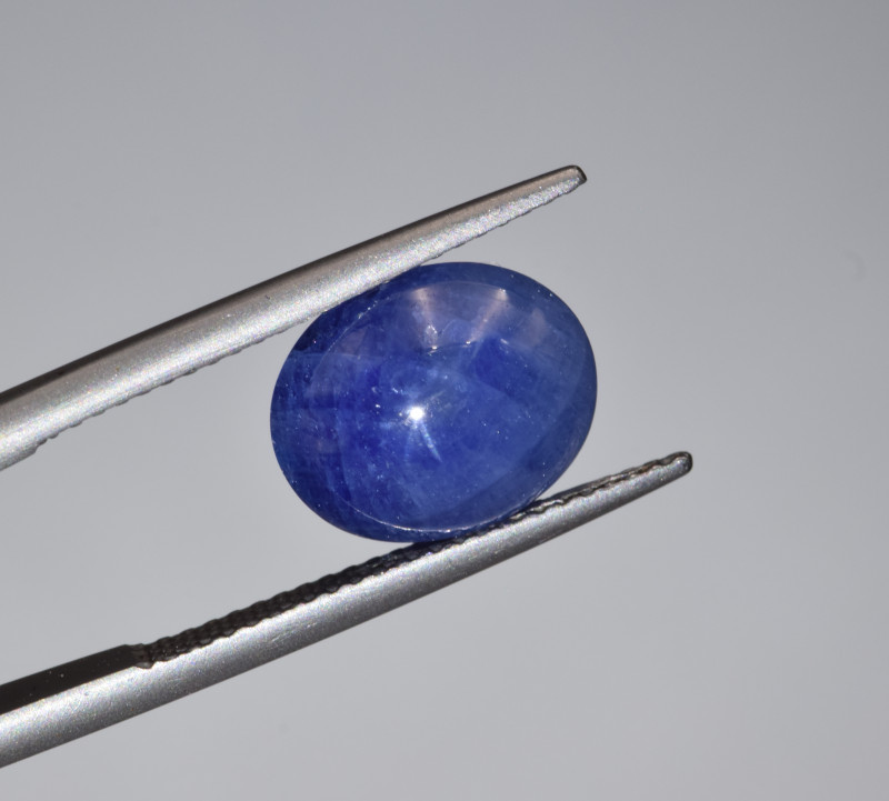 Natural Blue Sapphire 6.70 Cts Cabochon from Burma