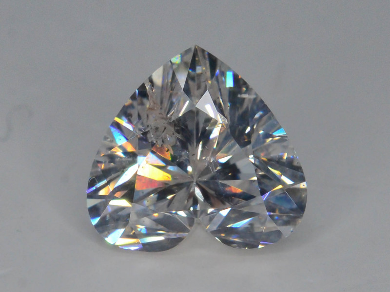 Top Color 1.05 ct Brilliant Cut Whie Diamond