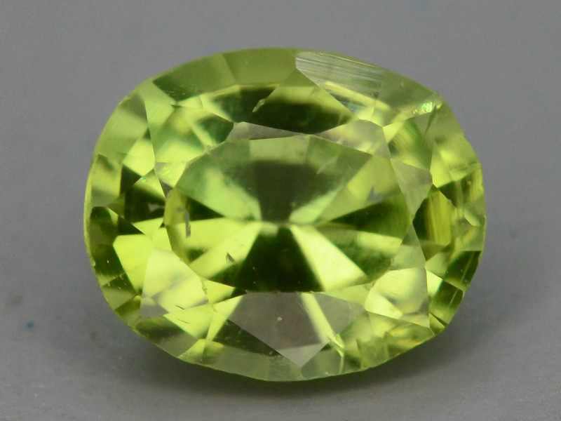 0.85 Ct Untreated Green Peridot ~t