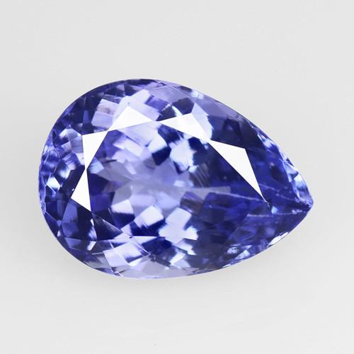 Tanzanite 4.29 Cts Amazing Rare Violet Blue Color Natural Gemstone