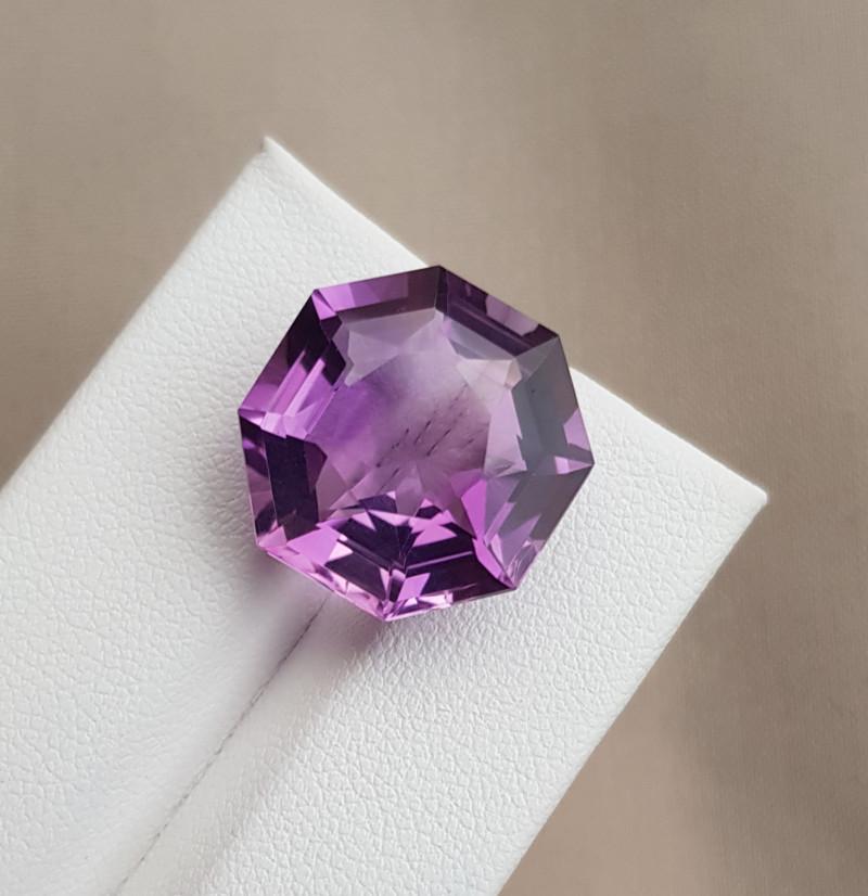 15.95  CTs Natural Amethyst Gemstones◇Brazil-SK013