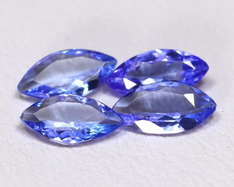 Tanzanite 1.20Ct VS Marquise Cut Natural Purplish Blue Tanzanite Lot A0807