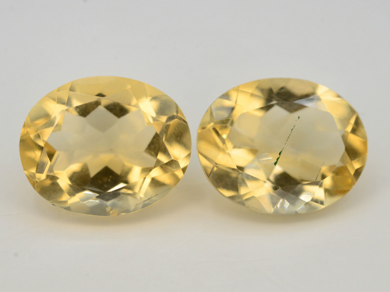 Citrine 6.40 Ct Natural Yellow Color Citrine