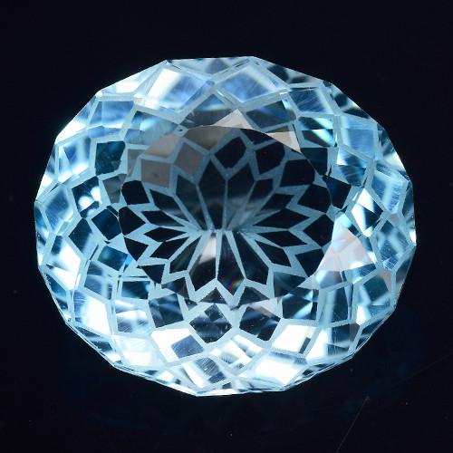 14.21 Cts Fancy Topaz Excellent Luster & Color Gemstone TP2