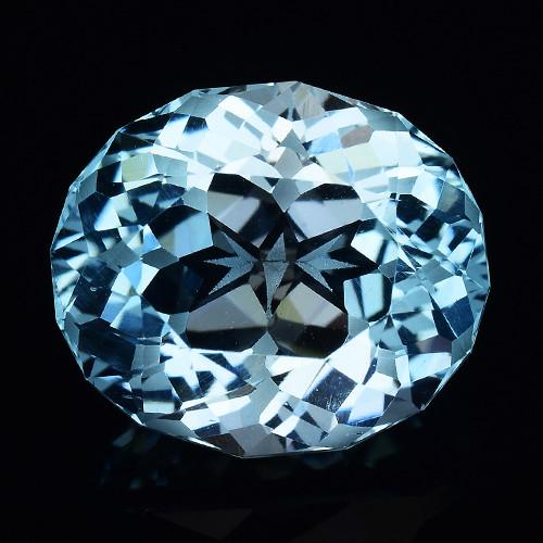 8.85 Cts Fancy Topaz Excellent Luster & Color Gemstone TP15