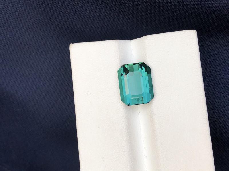 5.70 Carat Afghani blue green Tourmaline Gemstone