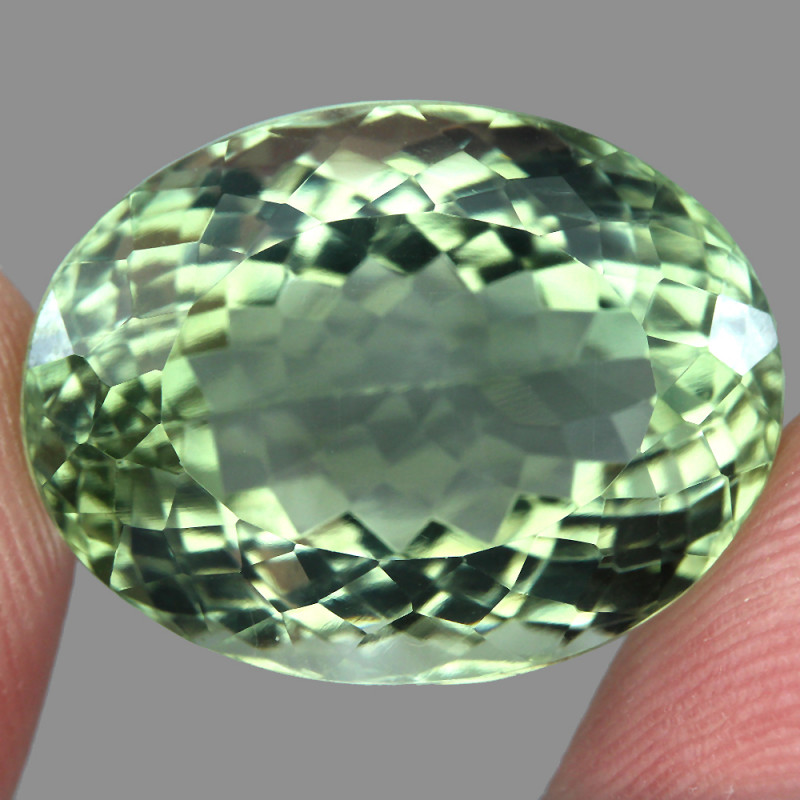 23.86 ct   Natural Earth Mined Top Quality Rich Green Amethyst Brazil