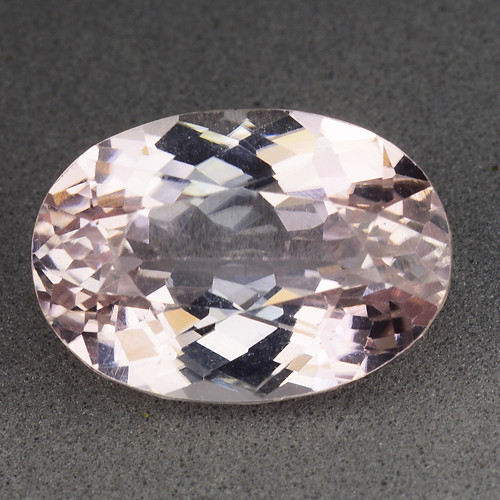 9.91 Ct Natural Kunzite Awesome Color & Cut Gemstone KZ54