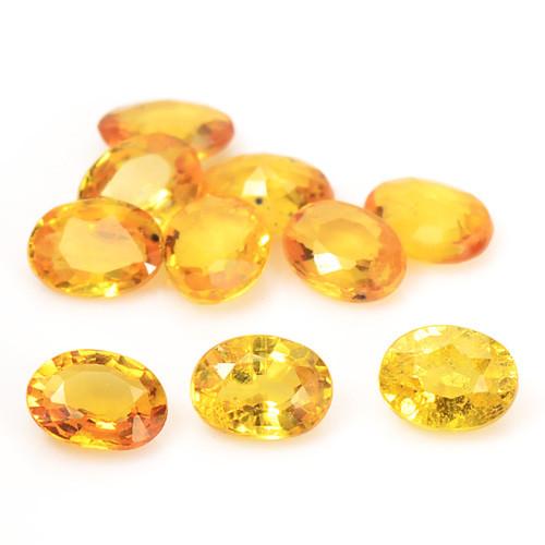 2.06 Carat Very Rare Yellow Color Natural Sapphire Loose Gemstones
