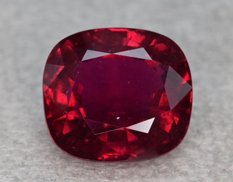 Natural Rubelite Tourmaline 16.428 Cts, Intense Red Color