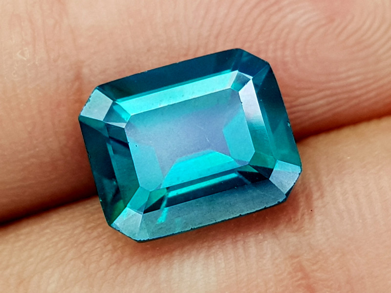 5.15Crt Green Topaz Natural Gemstones JI132