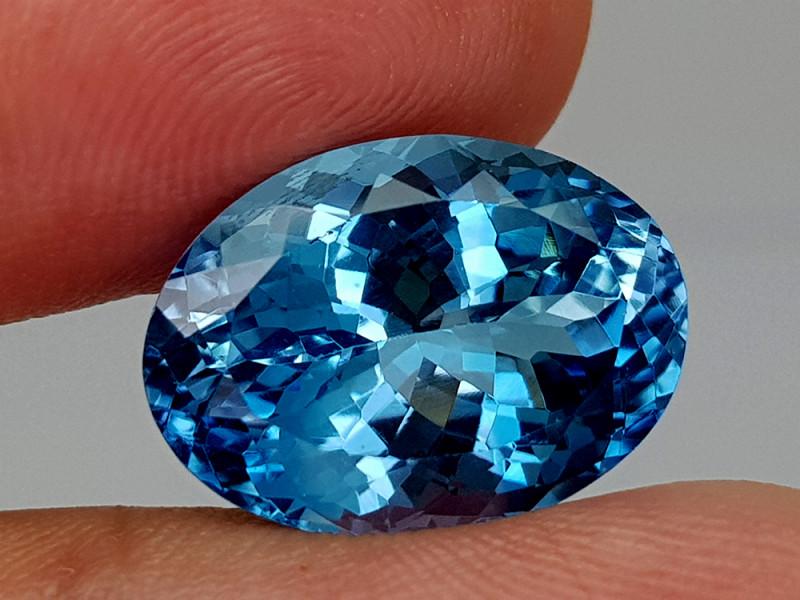 16Crt Blue Topaz Natural Gemstones JI132