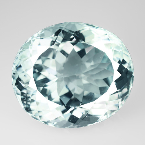 Aqua Topaz 66.79 Cts Unheated Blue Natural Gemstone