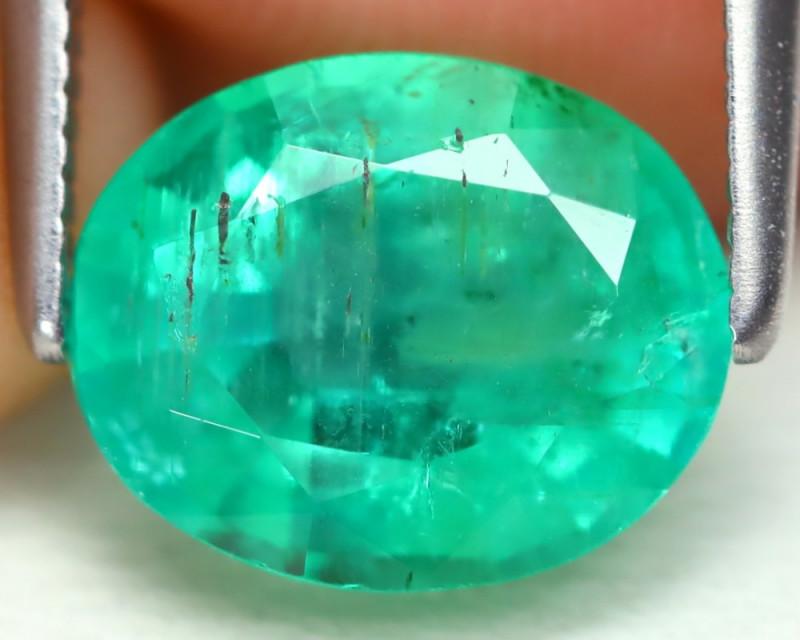 Colombian Emerald 2.27Ct Oval Cut Natural Green Color Emerald B1603