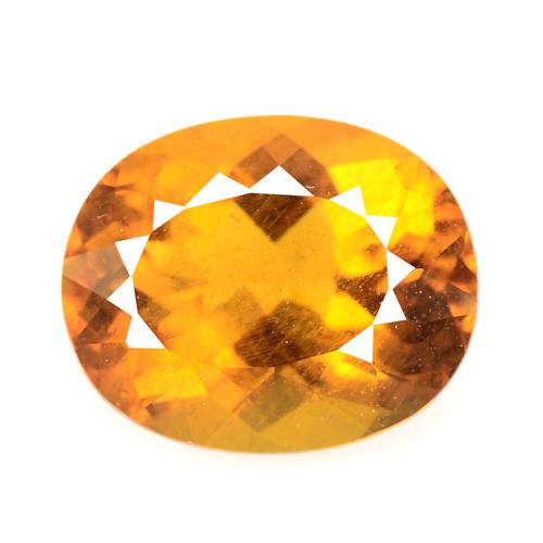 * No Reserve *Beryl 3.62 Cts Amazing Rare Golden Yellow Beryl Natural Loose