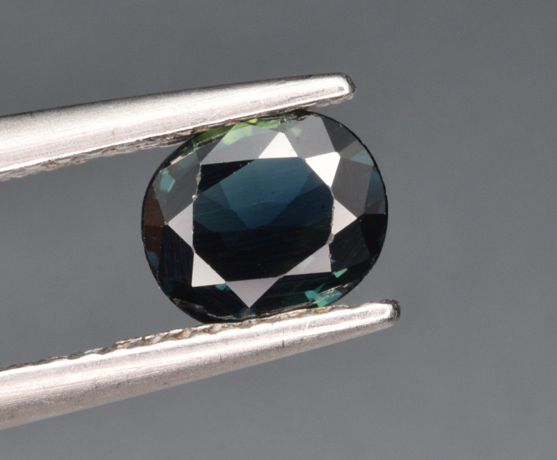 Natural Teal Sapphire 0.87 Cts Gemstone