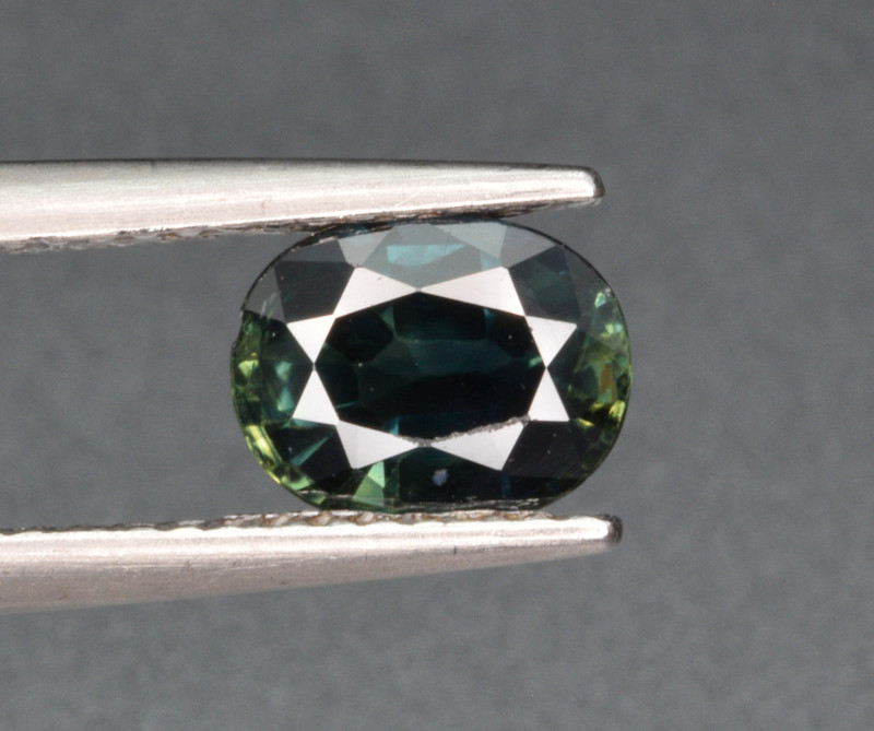 Natural Teal Sapphire 1.54 Cts Gemstone