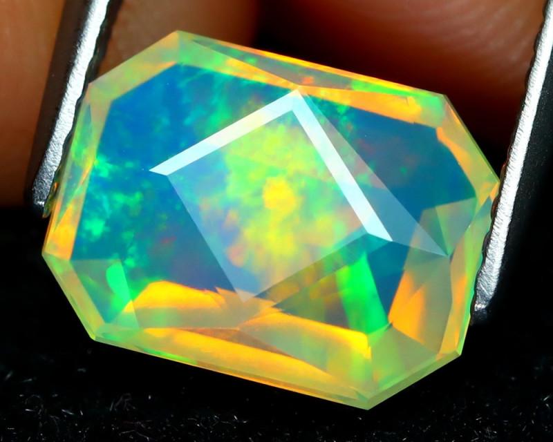 Welo Opal 1.91Ct Master Cut Natural Ethiopian Play Color Welo Opal C1607