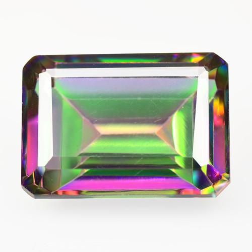 Mystic Topaz 8.00 Cts Rare Fancy Multicolor Natural