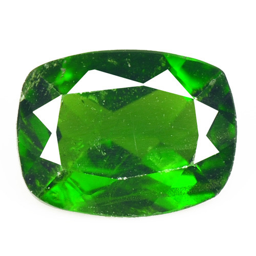 1.28 Cts Natural Green Color Chrome Diopside Loose Gemstone