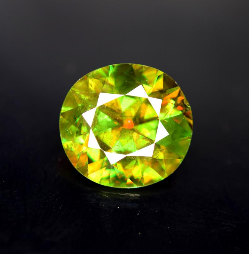 4.30 cts Sphene Titanite Gemstone ,