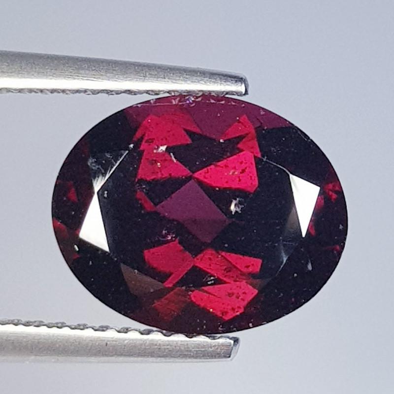 5.00 ct Top Grade Superb Oval Cut Natural Purple Pink Rhodolite Garnet