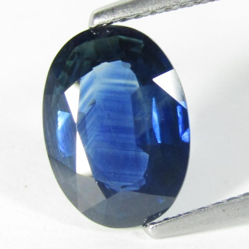 3.55Cts Genuine Natural Australian Sapphire Oval Shape Loose Gemstone REF V
