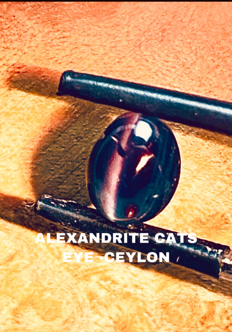 2.80 CT -ALEXANDRITE CATS EYE- BEST FROM CEYLON- FROM COLLECTOR