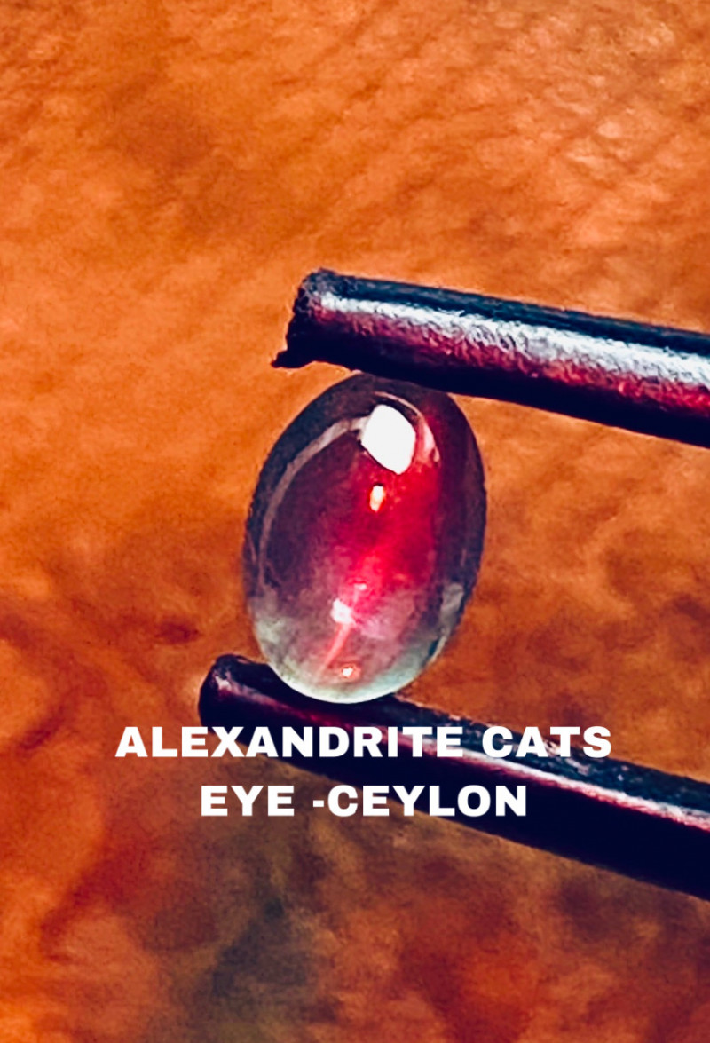 0.87 CT -ALEXANDRITE CATS EYE- BEST FROM CEYLON- FROM COLLECTOR