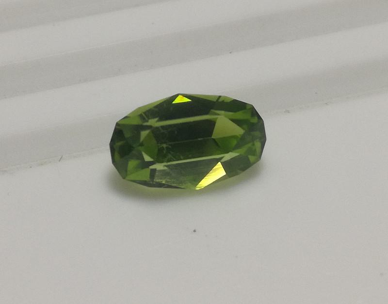 Master Cut Peridot Gemstone Cut by Master Cutter