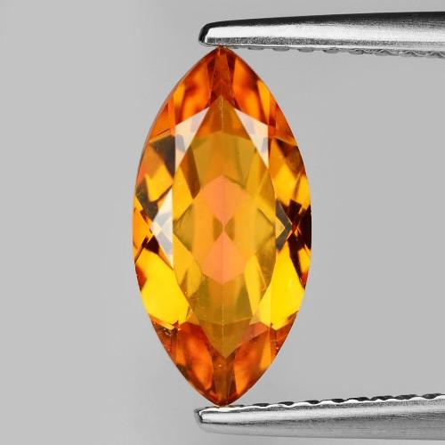 Mystic Quartz 1.56 Cts Rare Fancy Orange Color Natural