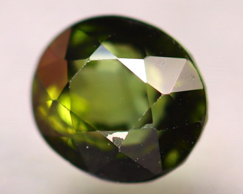 Tourmaline 1.93Ct Natural Green Tourmaline D2110/B19