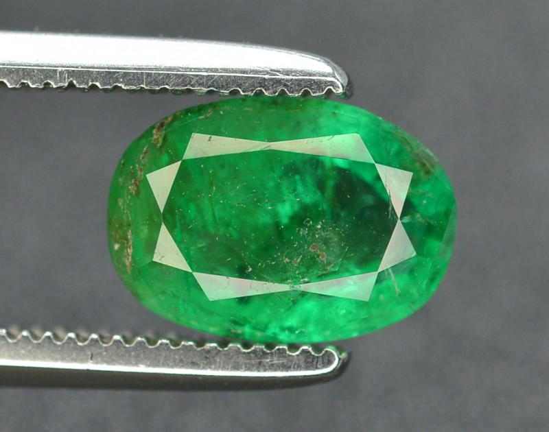 Superb Color 1.00 Ct Natural Emerald From Panjsher
