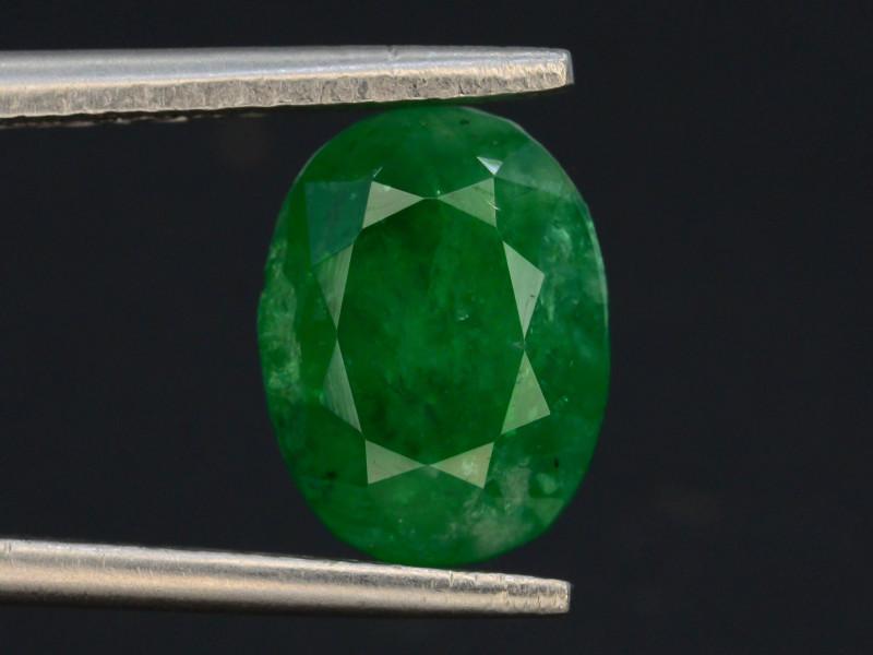 2.40 ct Natural Vivid Green Color Emerald~Swat