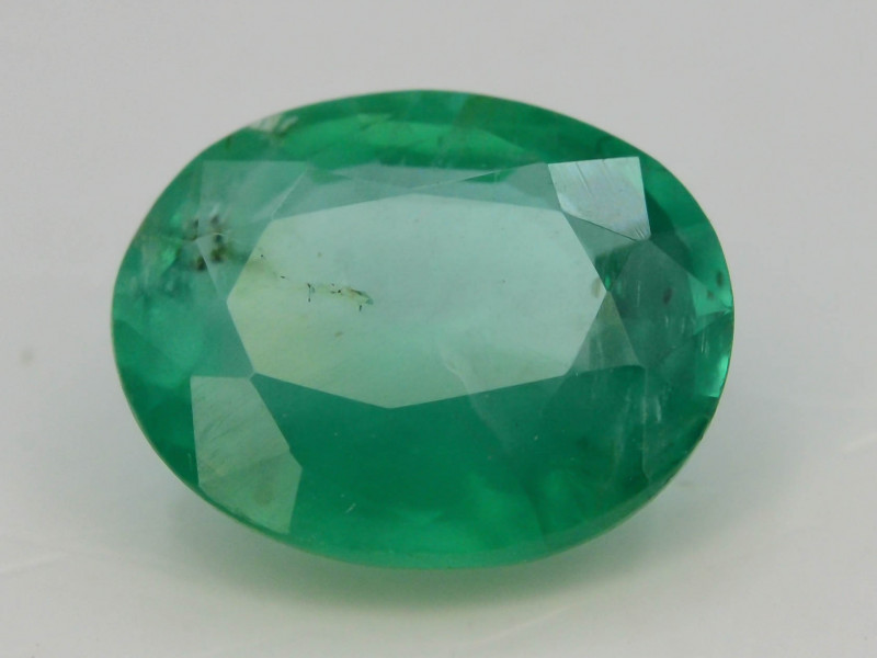 AAA Grade 1.65 Ct Natural Zambian Emerald
