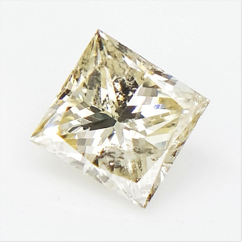 0.27 CTS , Princess Cut Diamond , Rare Natural Diamond