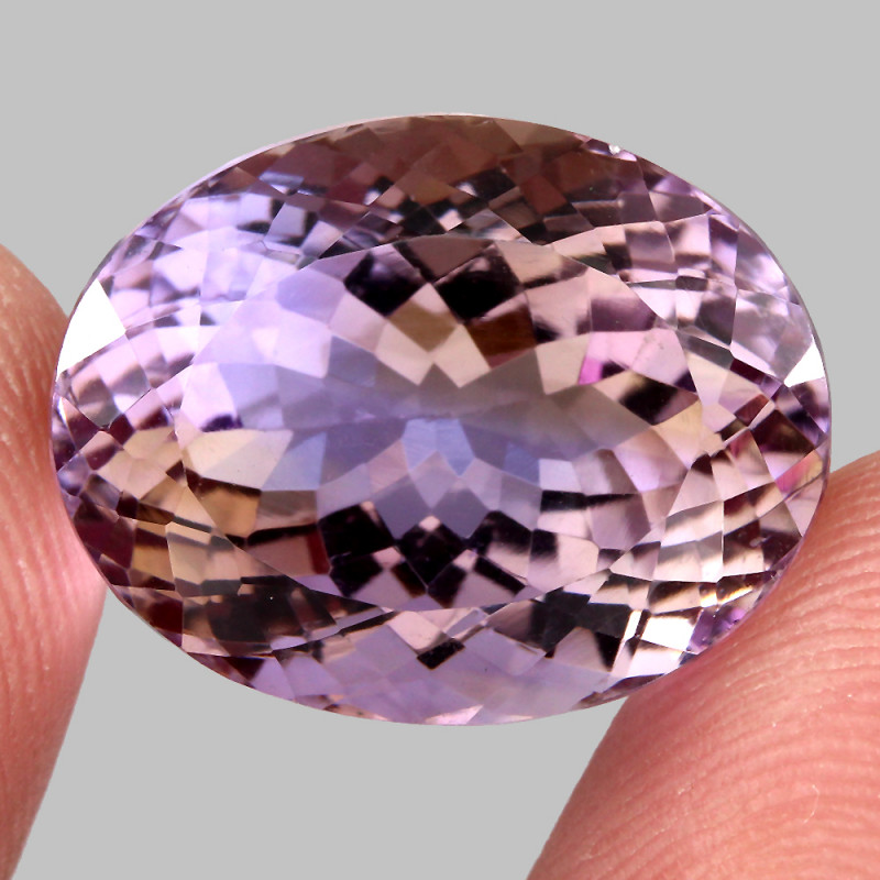 27.01 ct. 100% Natural Earth Mined Top Quality Bi Colors Purple Yellow Amet