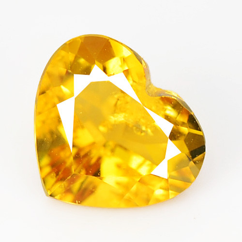 Citrine 0.94 Cts Fancy Golden Yellow Color Natural Gemstone