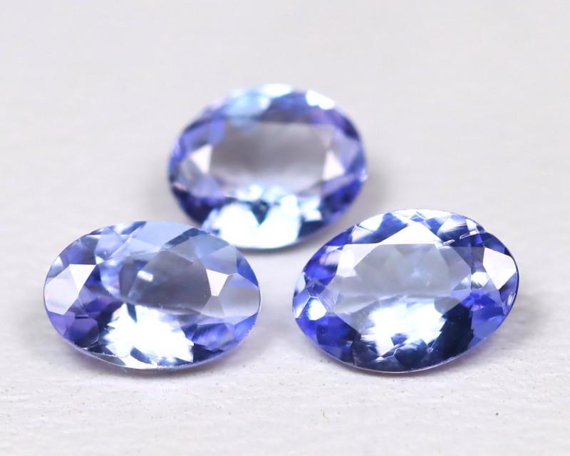 Tanzanite 1.62Ct VS Oval Cut Natural Purplish Blue Tanzanite Lot C2008