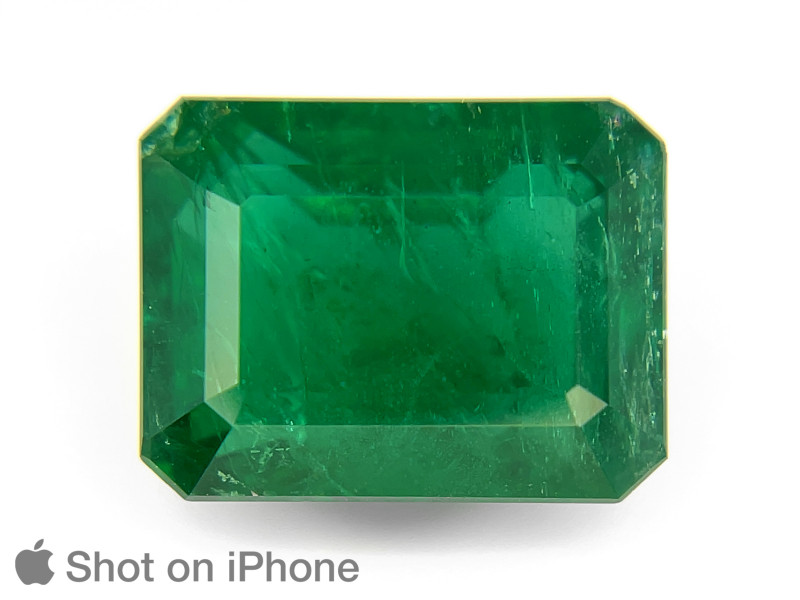 Emerald, 6.71ct - Mined in Zambia | Certified by GRS