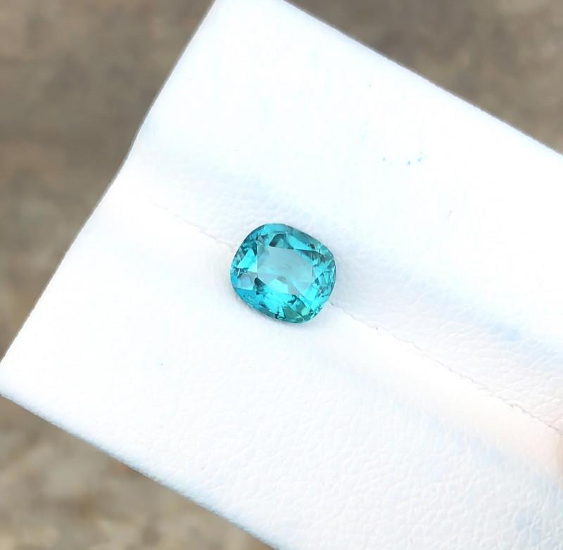 1.05 Ct Natural Blue Transparent Ring Size Tourmaline Gemstone