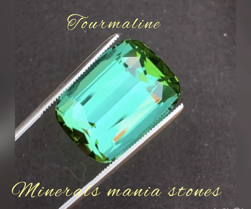 Presenting one of best color of Afghanistan Tourmaline