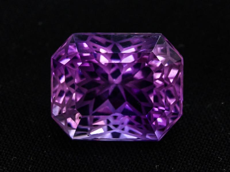 Flower Cut 13.15 Ct Natural Purple Amethyst ~ GAM