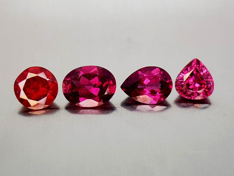 6Crt Grape Garnet Lot Natural Gemstones JI136