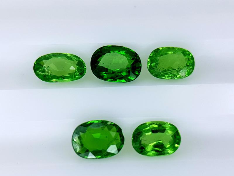 1.65Crt Rare Tsavorite Garnet Lot Natural Gemstones JI136