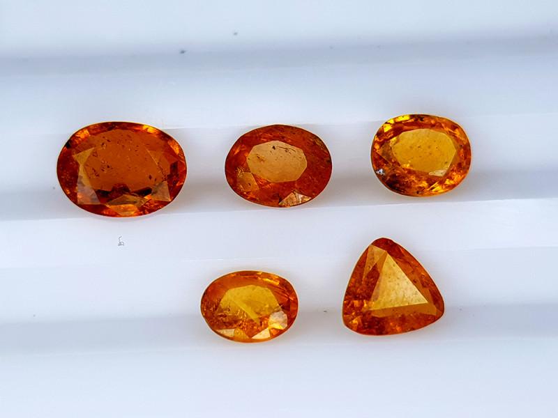 2.45Crt Rare Clinohumite Lot Natural Gemstones JI136