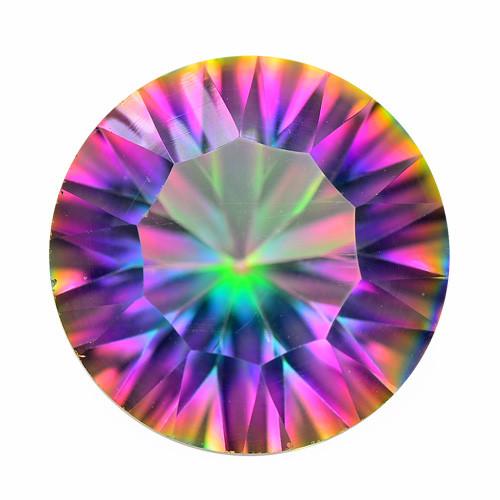 Mystic Quartz 5.44 Cts Rare Fancy Multicolor Natural