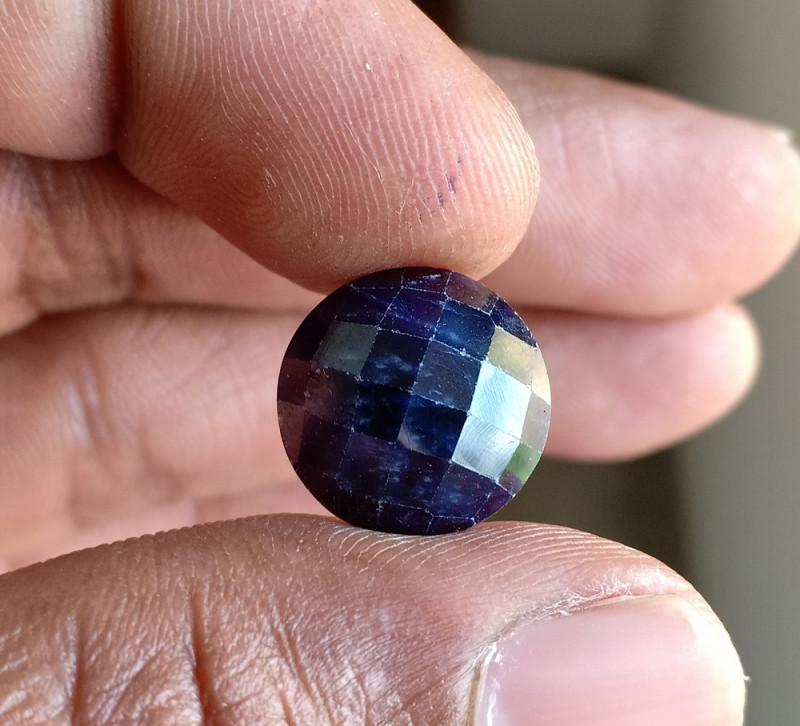 Natural Sapphire Gemstone With a Fancy Cut VA3937